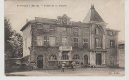 Isère SAINT PRIEST Place De La Mairie - Autres Communes