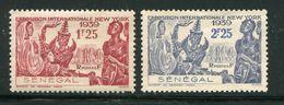 SENEGAL- Y&T N°153 Et 154- Neufs Sans Gomme - Unused Stamps