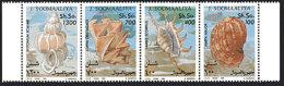 Somalia, 1994, Shells, Sea Life, Marine Life, MNH Strip, Michel 507-510 - Somalie (1960-...)