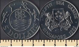 Singapore 5 Dollars 1983 - Singapur