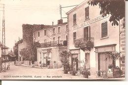 SAINT - HAON - Le - CHATEL   - Rue Principale ( HOTEL DES VOYAGEURS ) - Autres Communes