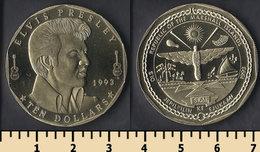 Marshall Islands 10 Dollars 1993 - Islas Marshall