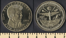 Marshall Islands 10 Dollars 1993 - Marshall