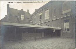 LEDEGHEM - Katholieke Meisjesschool Der Zusters Maricolen - Achterzijde - Carte Photo - Fotokaart - Ledegem