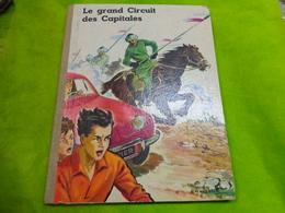 Livre Image -le Grand Circuit Des Capitales-chocolat Menier -il Manque 1 Seule Image - Chocolat