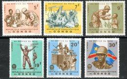 Rep. Congo   605 - 610   XX   ---   TTB - Neufs
