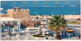 Hammamet. La Centre Ville. Long Card 21X10,5 VG. - Tunisie