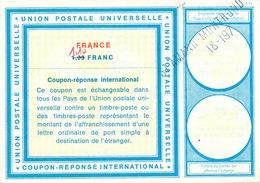 DT 423 -- FRANCE Coupon Réponse International ( IRC) 1 Franc Barré 1.10 F - ST AMAND MONTROND - Germany