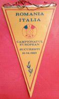 ROMANIA-ITALIA,1/0(LADISLAU BOLONI,LOTI),1983 - Apparel, Souvenirs & Other