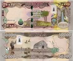 IRAQ       50,000 Dinars       P-New       2015 / AH1436       UNC  [ 50000 ] - Iraq