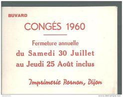 Buvard - Imprimerie Pornon - Stationeries (flat Articles)