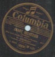 """78 Tours - M. ANDREANY  - COLUMBIA 1121  """" CHANT HELVETIEN """" + """" ECHOS DU VALLON """" - 78 Rpm - Gramophone Records"""