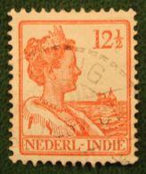 12 1/2 Ct Koningin Wilhelmina NVPH 117 1922 1913-1932 Gestempeld / Used INDIE / DUTCH INDIES - Niederländisch-Indien