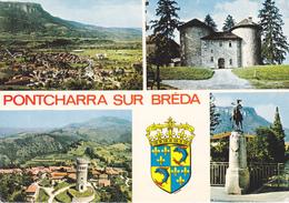 38  PONTCHARRA SUR BREDA / MULTIVUES / STATUE DE BAYARD - Pontcharra