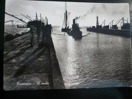 Fiumicino Roma Il Molo Usata 1954 - Fiumicino