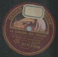 """78 Tours - M. GENIO  - GRAMOPHONE 6432   """" LA CHANSON DES ETOILES """" + """" LIZY - REVE D'UN SOIR """" - 78 Rpm - Gramophone Records"""