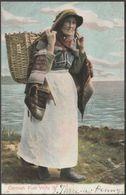 Cornish Fish Wife II, 1904 - Peacock Postcard - England