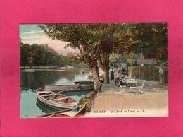 45 Loiret, Olivet, Les Bords Du Loiret, Animée, Barques, Colorisée,  (L. L.) - La Turbie