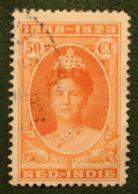 Regeringsjubileum 50 Ct NVPH 163 1923  Gestempeld / Used NEDERLAND INDIE / DUTCH INDIES - Niederländisch-Indien