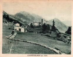 CHAMPORCHER (AO) - PANORAMA  - E - F/P - V: 1925 - Altre Città