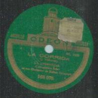 """78 Tours - LA ARGENTINA - ODEON 166075 """" LA CORRIDA """" + """" DANZA """" - 78 Rpm - Gramophone Records"""
