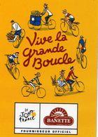 MAGNETS    BANETTE  LE TOUR DE FRANCE - Sports
