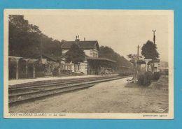 CPSM - Chemin De Fer Arrivée D'un Train En Gare De JOUY-EN-JOSAS 78 - Jouy En Josas