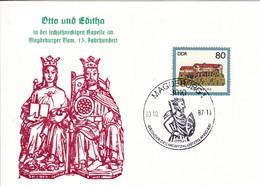 DDR Magdeburg  Otto Und Editha In Der Sechszehneckigen Kapelle In Magdeburger Dom 13. Jahrhundert. Mi: 2913 Neuenburg - [6] République Démocratique