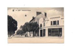 CPA  21 Dijon Boulevard De Brosses Garage Renault Dos Vert - Dijon