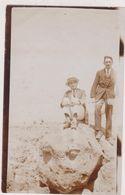 MAROC,MOROCCO,SUR LA PLAGE DE CASABLANCA EN 1926,PHOTO ANCIENNE,FRANCAIS INDUSTRIEL - Zubehör & Material