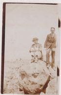 MAROC,MOROCCO,SUR LA PLAGE DE CASABLANCA EN 1926,PHOTO ANCIENNE,FRANCAIS INDUSTRIEL - Supplies And Equipment