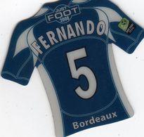 MAGNETS    FOOT 2008  FERNANDO   BORDEAUX - Sports