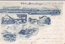 Gruss Aus Allmendingen/ Réf:fm359 - BE Berne
