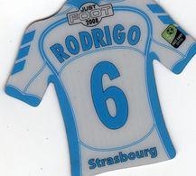 MAGNETS    FOOT 2008  RODRIGO  STRASBOURG - Sports
