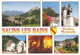 39  SALINS LES BAINS / MULTIVUES / BLASON / STATION THERMALE - Francia