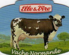 MAGNETS    ELLE&VIRE  VACHE NORMANDE - Advertising