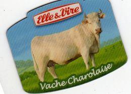 MAGNETS    ELLE&VIRE  VACHE CHAROLAISE - Advertising