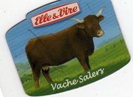 MAGNETS    ELLE&VIRE  VACHE SALERS - Advertising