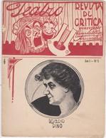 PORTUGAL MAGAZINE - TEATRO - THEATRE - Nº 2 - 1913 - Books, Magazines, Comics