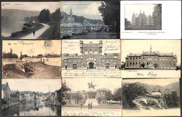 Belgique - Lot 121 Cartes (Liège Spa Manhay Bruxelles...animée, Automobile Grand Bazar DVD...voir Scans) - Cartes Postales