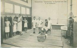 Egmond Aan Zee; Koloniehuis Zwartendijk. In De Badkamer - Niet Gelopen. (CG V. Kinderherstellings- En Vacantiecolonies) - Egmond Aan Zee