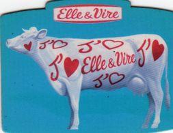 MAGNETS    ELLE&VIRE  VACHE - Advertising