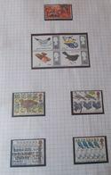 """Thématique """" Oiseaux """" Lot De Timbres Oblitéré Et Neuf  De G-B ( 5 Scans ) - Collections, Lots & Series"""