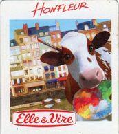 MAGNETS    ELLE&VIRE  VACHE  HONFLEUR - Advertising