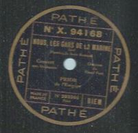 """78 Tours - PRIOR - PATHE 94168 """" NOUS, LES GARS DE LA MARINE """" + """" CE QU'ON ENTEND ! ! ! """" - 78 Rpm - Gramophone Records"""