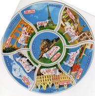 7  MAGNETS REGIONS DE FRANCE      ELLE&VIRE  VACHES - Advertising