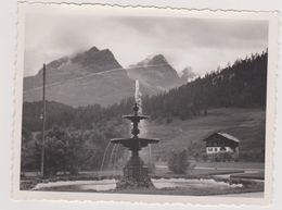Suisse,switzerland,svizzera,schweiz,helvetia,SAINT MORITZ BAD EN  1937,GRISONS,,malorja, Engadine,FONTAINE,station - Lieux