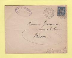 Pontcharra Sur Turdine - Rhone - 1892 - 1877-1920: Période Semi Moderne