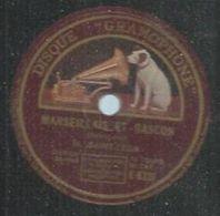 """78 Tours - M. SAINT-LEON - GRAMOPHONE 6331 """" MARSEILLAIS ET GASCON """" + """" MA CARRIERE D'ARTISTE """" - 78 Rpm - Gramophone Records"""