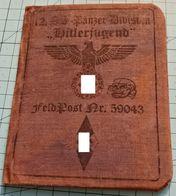"WW2 German, Nazi, 12.SS Panzer Division ""Hitlerjugend"",  ID, Document Auswies, Not Original - 1939-45"